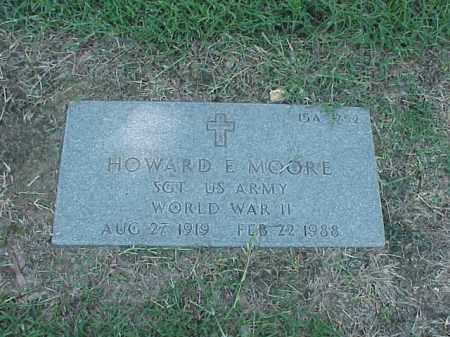 MOORE (VETERAN WWII), HOWARD E - Pulaski County, Arkansas | HOWARD E MOORE (VETERAN WWII) - Arkansas Gravestone Photos