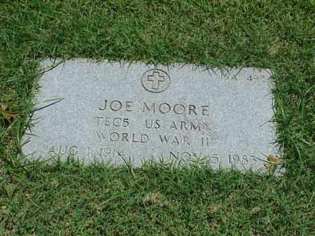 MOORE (VETERAN WWII), JOE - Pulaski County, Arkansas | JOE MOORE (VETERAN WWII) - Arkansas Gravestone Photos