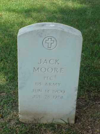MOORE (VETERAN WWII), JACK - Pulaski County, Arkansas | JACK MOORE (VETERAN WWII) - Arkansas Gravestone Photos