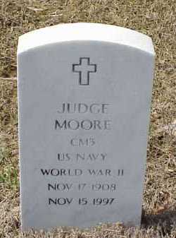 MOORE (VETERAN WWII), JUDGE - Pulaski County, Arkansas | JUDGE MOORE (VETERAN WWII) - Arkansas Gravestone Photos