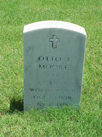 MOORE (VETERAN WWII), OTTO J - Pulaski County, Arkansas | OTTO J MOORE (VETERAN WWII) - Arkansas Gravestone Photos