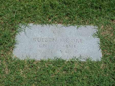 MOORE (VETERAN WWII), RUEBEN - Pulaski County, Arkansas | RUEBEN MOORE (VETERAN WWII) - Arkansas Gravestone Photos