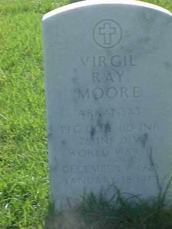 MOORE (VETERAN WWII), VIRGIL RAY - Pulaski County, Arkansas | VIRGIL RAY MOORE (VETERAN WWII) - Arkansas Gravestone Photos