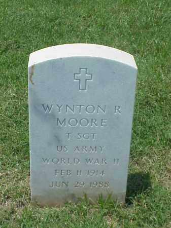 MOORE (VETERAN WWII), WYNTON R - Pulaski County, Arkansas | WYNTON R MOORE (VETERAN WWII) - Arkansas Gravestone Photos