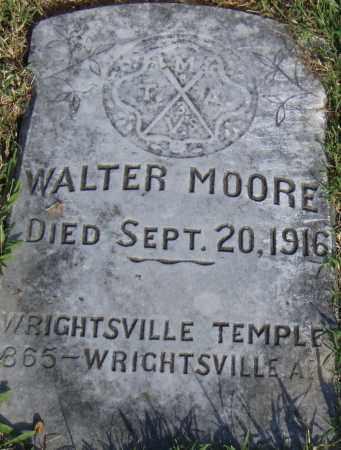 MOORE, WALTER - Pulaski County, Arkansas | WALTER MOORE - Arkansas Gravestone Photos
