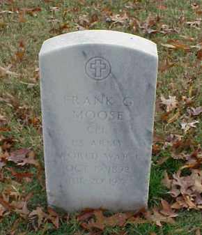 MOOSE (VETERAN WWI), FRANK G - Pulaski County, Arkansas | FRANK G MOOSE (VETERAN WWI) - Arkansas Gravestone Photos