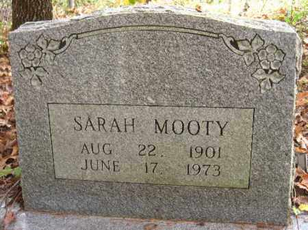 MOOTY, SARAH - Pulaski County, Arkansas | SARAH MOOTY - Arkansas Gravestone Photos