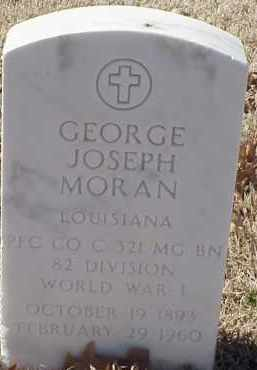 MORAN  (VETERAN WWI), GEORGE JOSEPH - Pulaski County, Arkansas | GEORGE JOSEPH MORAN  (VETERAN WWI) - Arkansas Gravestone Photos