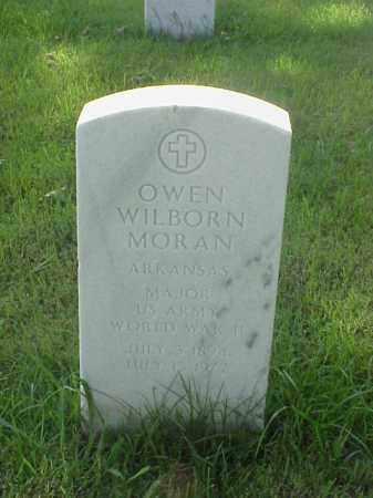 MORAN (VETERAN WWII), OWEN WILBORN - Pulaski County, Arkansas | OWEN WILBORN MORAN (VETERAN WWII) - Arkansas Gravestone Photos