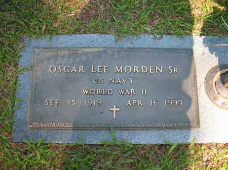 MORDEN, SR (VETERAN WWII), OSCAR LEE - Pulaski County, Arkansas | OSCAR LEE MORDEN, SR (VETERAN WWII) - Arkansas Gravestone Photos