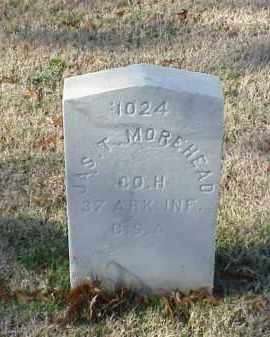 MOREHEAD (VETERAN CSA), JAMES T - Pulaski County, Arkansas | JAMES T MOREHEAD (VETERAN CSA) - Arkansas Gravestone Photos