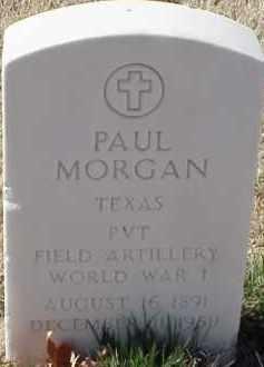 MORGAN  (VETERAN WWI), PAUL - Pulaski County, Arkansas | PAUL MORGAN  (VETERAN WWI) - Arkansas Gravestone Photos