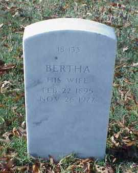MORGAN, BERTHA - Pulaski County, Arkansas | BERTHA MORGAN - Arkansas Gravestone Photos