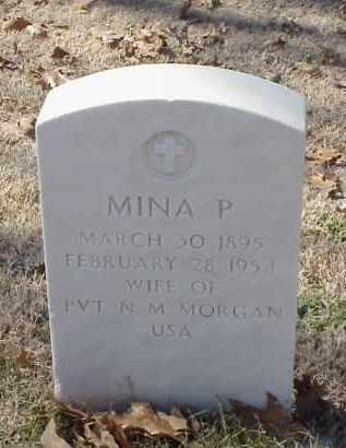 MORGAN, MINA P - Pulaski County, Arkansas | MINA P MORGAN - Arkansas Gravestone Photos