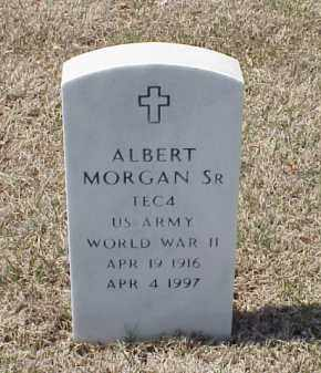 MORGAN, SR (VETERAN WWII), ALBERT - Pulaski County, Arkansas | ALBERT MORGAN, SR (VETERAN WWII) - Arkansas Gravestone Photos