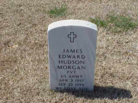 MORGAN (VETERAN), JAMES EDWARD HUDSON - Pulaski County, Arkansas | JAMES EDWARD HUDSON MORGAN (VETERAN) - Arkansas Gravestone Photos