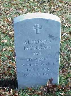 MORGAN (VETERAN WWI), ALFONZA - Pulaski County, Arkansas | ALFONZA MORGAN (VETERAN WWI) - Arkansas Gravestone Photos