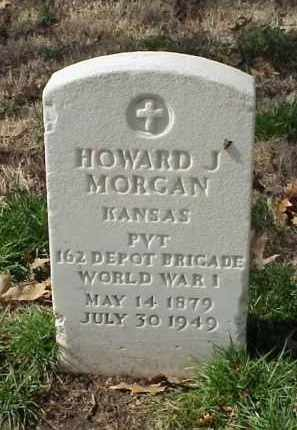 MORGAN (VETERAN WWI), HOWARD J - Pulaski County, Arkansas | HOWARD J MORGAN (VETERAN WWI) - Arkansas Gravestone Photos