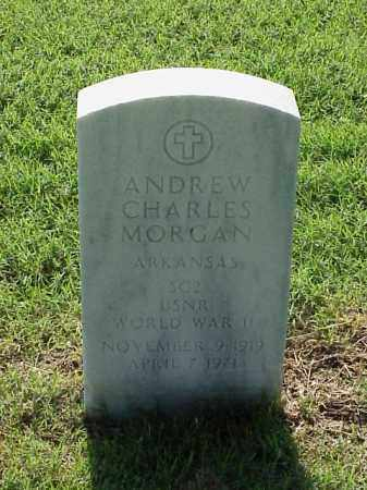 MORGAN (VETERAN WWII), ANDREW CHARLES - Pulaski County, Arkansas | ANDREW CHARLES MORGAN (VETERAN WWII) - Arkansas Gravestone Photos