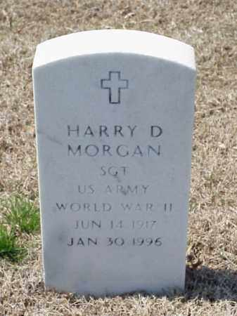 MORGAN (VETERAN WWII), HARRY D - Pulaski County, Arkansas | HARRY D MORGAN (VETERAN WWII) - Arkansas Gravestone Photos