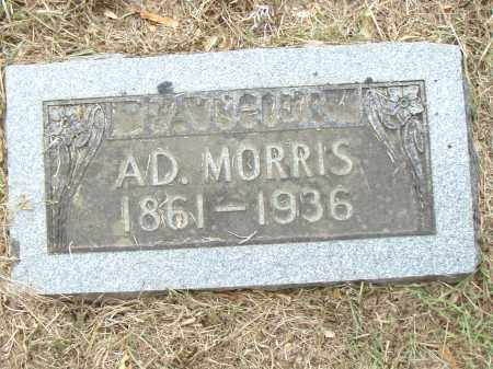 MORRIS, AD. - Pulaski County, Arkansas | AD. MORRIS - Arkansas Gravestone Photos