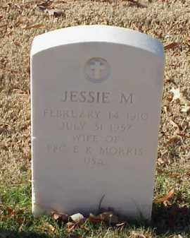 MORRIS, JESSIE M. - Pulaski County, Arkansas | JESSIE M. MORRIS - Arkansas Gravestone Photos