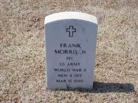 MORRIS, JR (VETERAN WWII), FRANK - Pulaski County, Arkansas | FRANK MORRIS, JR (VETERAN WWII) - Arkansas Gravestone Photos