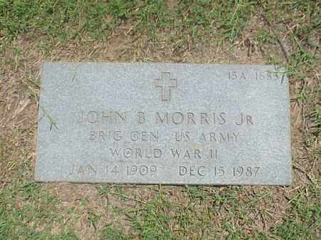 MORRIS, JR VETERAN WWII), JOHN B - Pulaski County, Arkansas | JOHN B MORRIS, JR VETERAN WWII) - Arkansas Gravestone Photos