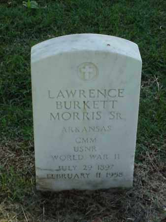 MORRIS, SR (VETERAN WWII), LAWRENCE BURKETT - Pulaski County, Arkansas | LAWRENCE BURKETT MORRIS, SR (VETERAN WWII) - Arkansas Gravestone Photos