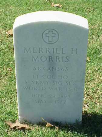 MORRIS (VETERAN 2 WARS), MERRILL H - Pulaski County, Arkansas | MERRILL H MORRIS (VETERAN 2 WARS) - Arkansas Gravestone Photos