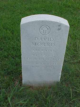 MORRIS (VETERAN), DAVID - Pulaski County, Arkansas | DAVID MORRIS (VETERAN) - Arkansas Gravestone Photos