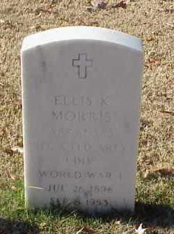 MORRIS (VETERAN WWI), ELLIS K - Pulaski County, Arkansas | ELLIS K MORRIS (VETERAN WWI) - Arkansas Gravestone Photos