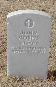 MORRIS (VETERAN WWI), JOHN - Pulaski County, Arkansas | JOHN MORRIS (VETERAN WWI) - Arkansas Gravestone Photos