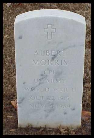 MORRIS (VETERAN WWII), ALBERT - Pulaski County, Arkansas | ALBERT MORRIS (VETERAN WWII) - Arkansas Gravestone Photos