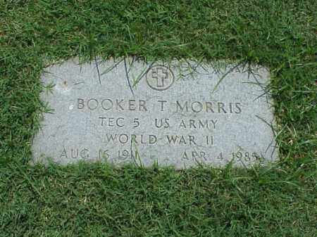 MORRIS (VETERAN WWII), BOOKER T - Pulaski County, Arkansas | BOOKER T MORRIS (VETERAN WWII) - Arkansas Gravestone Photos