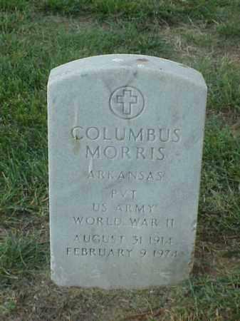 MORRIS (VETERAN WWII), COLUMBUS - Pulaski County, Arkansas   COLUMBUS MORRIS (VETERAN WWII) - Arkansas Gravestone Photos