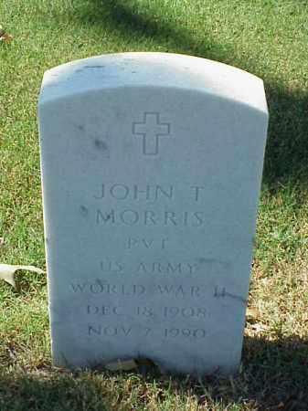 MORRIS (VETERAN WWII), JOHN T - Pulaski County, Arkansas | JOHN T MORRIS (VETERAN WWII) - Arkansas Gravestone Photos