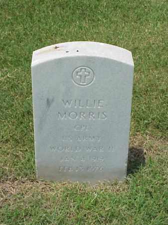 MORRIS (VETERAN WWII), WILLIE - Pulaski County, Arkansas | WILLIE MORRIS (VETERAN WWII) - Arkansas Gravestone Photos