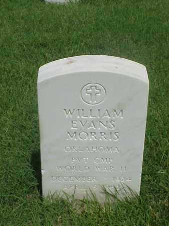 MORRIS (VETERAN WWII), WILLIAM EVANS - Pulaski County, Arkansas | WILLIAM EVANS MORRIS (VETERAN WWII) - Arkansas Gravestone Photos
