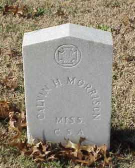 MORRISON (VETERAN CSA), CALVIN H - Pulaski County, Arkansas | CALVIN H MORRISON (VETERAN CSA) - Arkansas Gravestone Photos
