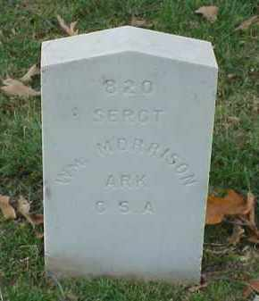 MORRISON (VETERAN CSA), WILLIAM - Pulaski County, Arkansas | WILLIAM MORRISON (VETERAN CSA) - Arkansas Gravestone Photos