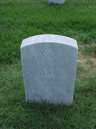 MORRISON (VETERAN KOR), TURNER - Pulaski County, Arkansas | TURNER MORRISON (VETERAN KOR) - Arkansas Gravestone Photos