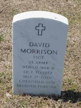 MORRISON (VETERAN WWII), DAVID - Pulaski County, Arkansas | DAVID MORRISON (VETERAN WWII) - Arkansas Gravestone Photos