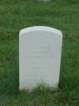 MORRISON (VETERAN WWII), ROBERT JOHN - Pulaski County, Arkansas | ROBERT JOHN MORRISON (VETERAN WWII) - Arkansas Gravestone Photos