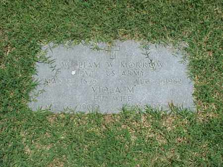 MORROW (VETERAN WWI), WILLIAM W - Pulaski County, Arkansas | WILLIAM W MORROW (VETERAN WWI) - Arkansas Gravestone Photos