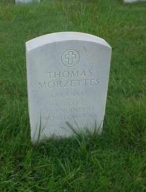 MORZETTES (VETERAN WWI), THOMAS - Pulaski County, Arkansas | THOMAS MORZETTES (VETERAN WWI) - Arkansas Gravestone Photos