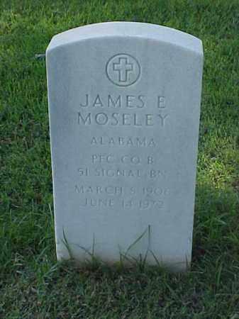 MOSELEY (VETERAN), JAMES E - Pulaski County, Arkansas | JAMES E MOSELEY (VETERAN) - Arkansas Gravestone Photos