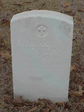 MOSELEY (VETERAN WWI), FRANK - Pulaski County, Arkansas | FRANK MOSELEY (VETERAN WWI) - Arkansas Gravestone Photos