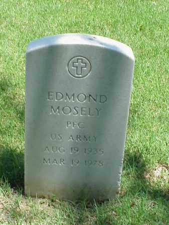 MOSELY (VETERAN), EDMOND - Pulaski County, Arkansas | EDMOND MOSELY (VETERAN) - Arkansas Gravestone Photos