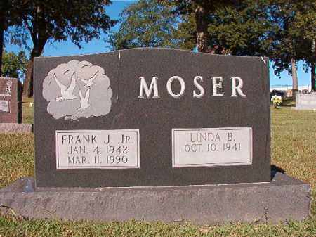 MOSER, JR, FRANK J - Pulaski County, Arkansas | FRANK J MOSER, JR - Arkansas Gravestone Photos